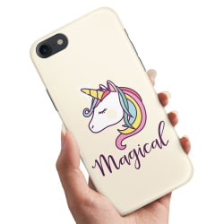 iPhone 5/5S/SE - Skal / Mobilskal Magisk Ponny / Unicorn