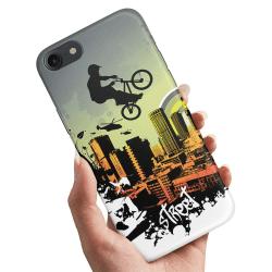 iPhone 5/5S/SE - Skal / Mobilskal Street BMX