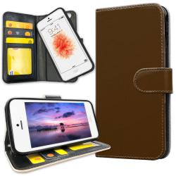 iPhone 5C - Mobilfodral Brun Brun