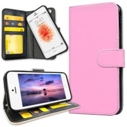 iPhone 5C - Mobilfodral Ljusrosa Rosa