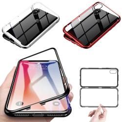 iPhone 6/6s Magnetskal / Skal / Mobilskal - 3 Färger Svart