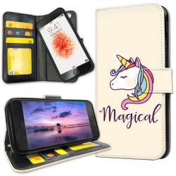 iPhone 6/6s Plus - Mobilfodral Magisk Ponny / Unicorn