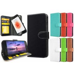 iPhone 6/6s Plus - Mobilfodral / Mobilskal med Magnet Svart