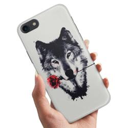 iPhone 6/6s Plus - Skal / Mobilskal Varg Ros