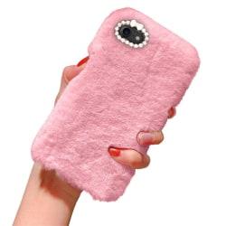 iPhone 6/6s - Skal / Mobilskal Fluffig Päls - Rosa Rosa