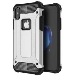 iPhone X / XS - Skal / Mobilskal Tough - Silver