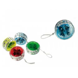 Jojo / Yoyo med Kullager & LED multifärg