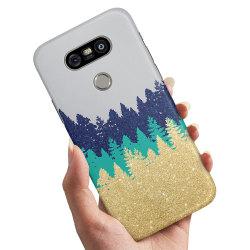 LG G5 - Skal / Mobilskal Glitter Skog