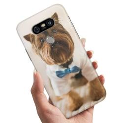 LG G5 - Skal / Mobilskal Hund med Fluga