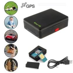 Mini GSM / GPS tracker / Spårsändare - Sändare med Avlyssning