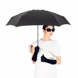 Miniparaply / Paraply med Kort Skaft - Svart