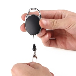 Nyckelring Utdragbar / Nyckelhållare med Snöre - Anti-stöld