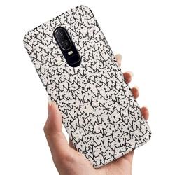 OnePlus 6 - Skal / Mobilskal Kattgrupp