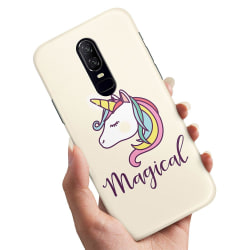 OnePlus 6 - Skal / Mobilskal Magisk Ponny