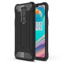 OnePlus 6 - Skal / Mobilskal Tough - Svart Svart