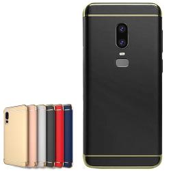 OnePlus 6 - Skal / Mobilskal Tunt - Flera färger Svart