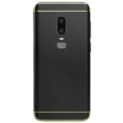 OnePlus 6 - Skal / Mobilskal Tunt - Svart Svart