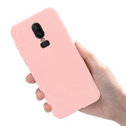 OnePlus 6T - Skal / Mobilskal Lätt & Tunt - Ljusrosa Ljusrosa