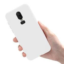 OnePlus 6T - Skal / Mobilskal Lätt & Tunt - Vit Vit