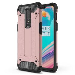 OnePlus 6T - Skal / Mobilskal Tough - Flera färger Rosa