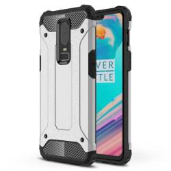 OnePlus 6T - Skal / Mobilskal Tough - Silver Silver