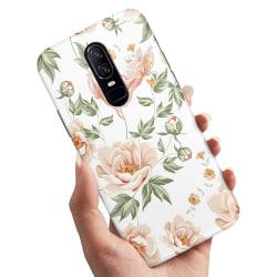 OnePlus 7 Pro - Skal / Mobilskal Blommönster