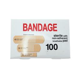 Plåster 100-Pack