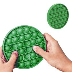 Pop It Fidget Toys - Leksak / Sensory - Cirkel - Grön Grön