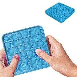 Pop It Fidget Toys - Leksak / Sensory - Fyrkant - Ljusblå Ljusblå