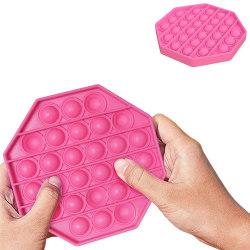 Pop It Fidget Toys - Leksak / Sensory - Oktagon - Rosa Rosa