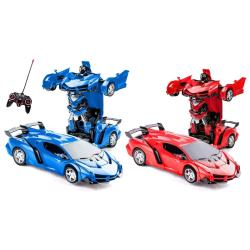 Radiostyrd Bil / Transformer Blå