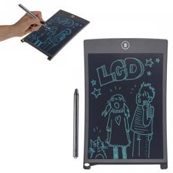 Ritplatta för Barn / Digital Tablet med Penna - 22 cm Svart
