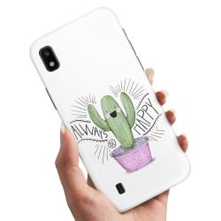 Samsung Galaxy A10 - Skal / Mobilskal Happy Cactus