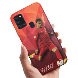Samsung Galaxy A21s - Skal / Mobilskal Cristiano Ronaldo