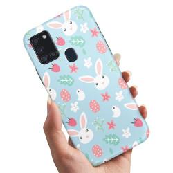 Samsung Galaxy A21s - Skal / Mobilskal Kaniner