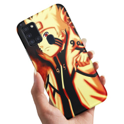 Samsung Galaxy A21s - Skal / Mobilskal Naruto Sasuke
