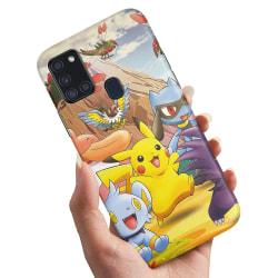 Samsung Galaxy A21s - Skal / Mobilskal Pokemon