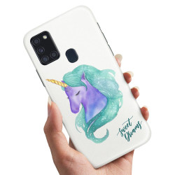 Samsung Galaxy A21s - Skal / Mobilskal Sweet Dreams Pony