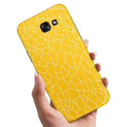 Samsung Galaxy A3 (2017) - Skal / Mobilskal Gult Mönster Gul