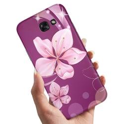 Samsung Galaxy A3 (2017) - Skal / Mobilskal Vit Blomma