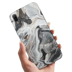 Samsung Galaxy A40 - Skal / Mobilskal Marmor