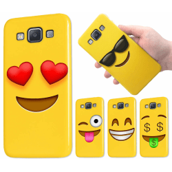 Samsung Galaxy A5 (2015) - Skal / Mobilskal - Emoji - 15 Motiv 6