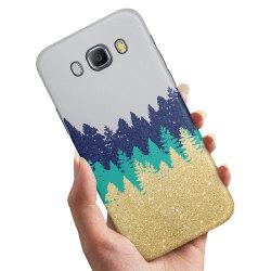Samsung Galaxy A5 (2015) - Skal / Mobilskal Glitter Skog