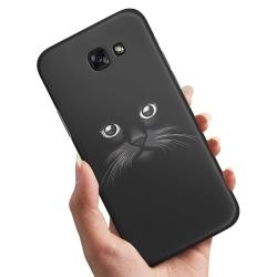 Samsung Galaxy A5 (2016) - Skal / Mobilskal Svart Katt Svart