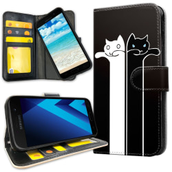 Samsung Galaxy A5 (2017) - Mobilfodral Avlånga Katter