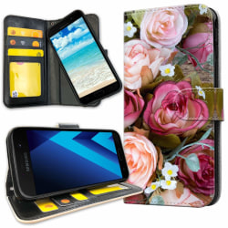 Samsung Galaxy A5 (2017) - Mobilfodral Blommor
