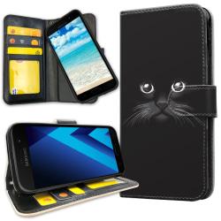 Samsung Galaxy A5 (2017) - Mobilfodral Svart Katt Svart
