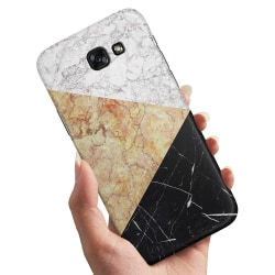 Samsung Galaxy A5 (2017) - Skal / Mobilskal Marmorskivor