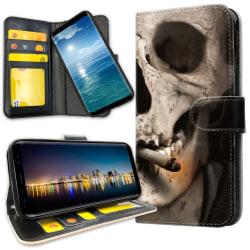 Samsung Galaxy A6 (2018) - Mobilfodral Smoking Skull