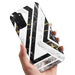 Samsung Galaxy A71 - Skal / Mobilskal Krokigt Mönster